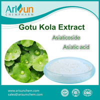Factory Supply Best Sale Powder Gotu Kola Leaf Extract 50%
