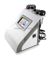 Cavitation vacuum tripolar bipoar rf portable slimming beauty machine
