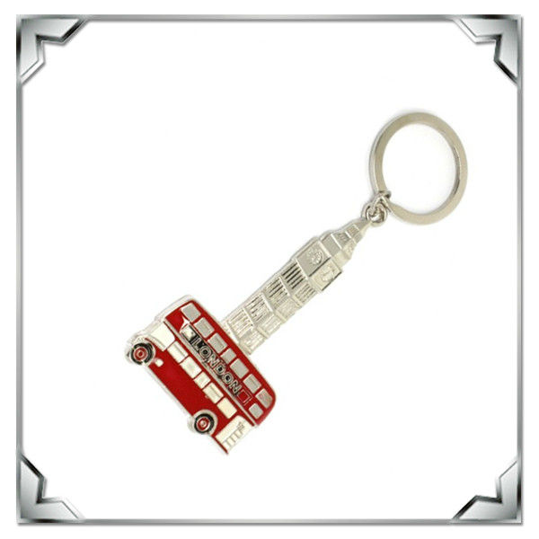 London Route master and Big Ben shape Souvenir keychain