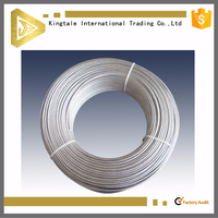 ship pvc coated galvanized steel wire rope price