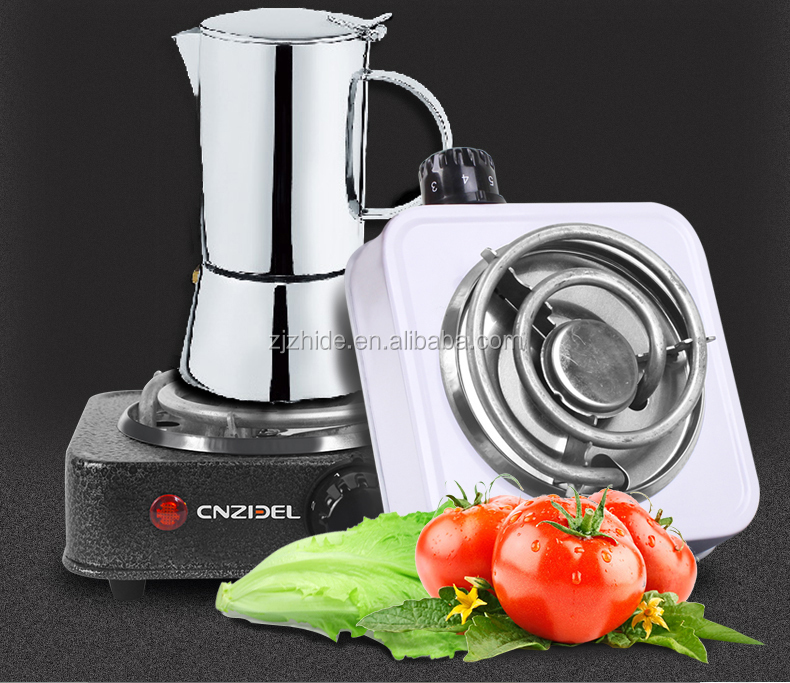 Cnzidel mini electric stove single burner hot plate with coil plate