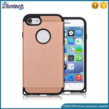 Newest arrival fashion hybrid plastic mobile phone case for iphone 5 5s SE