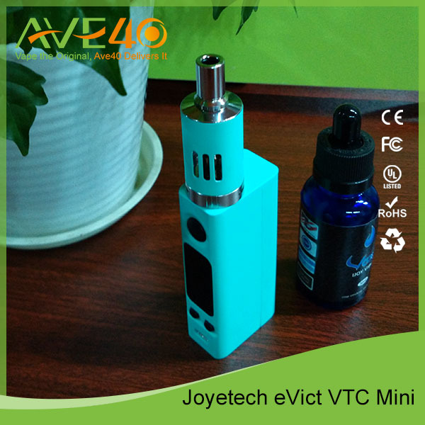 Original Joyetech Evic VTC Mini 5000mah Battery 60w Mod 4ml Tank Evic VTC Mini Full stock