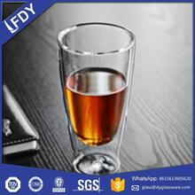 Main product long lasting double wall glass cup wholesale price