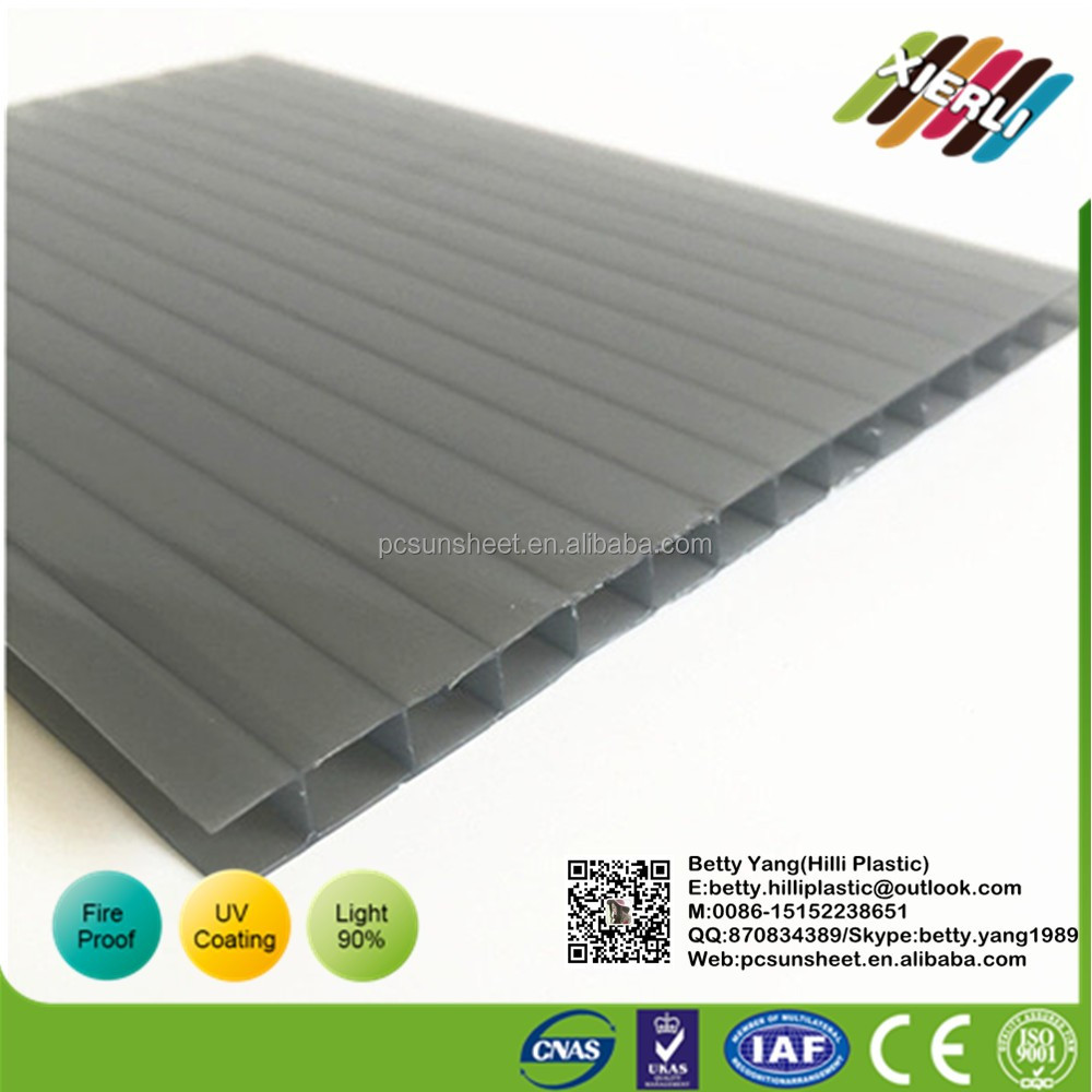 Wholesale high quality PC hollow polycarbonate sheet