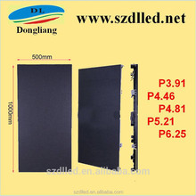 new product HD led video wall 500*1000mm die-casting aluminum indoor p5.21 led display for rental