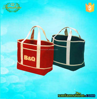 high quality cotton canvas shopping bag/tote bag canvas