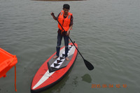 2016 CE racing inflatable stand up paddle board surfboard