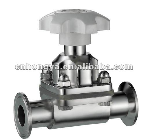 Sanitary Manual Diaphragm Valve