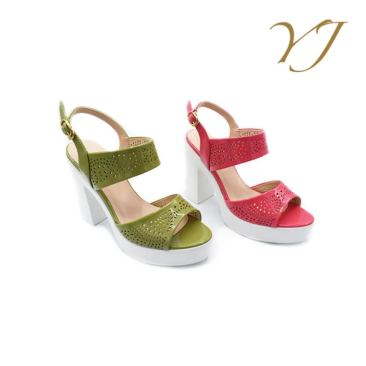 2016 new arrival women sandals simple dress vintage style model sex high heel sandal