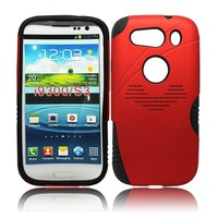 Hybrid Combo Armor kickstand Phone Case For Samsung Galaxy S3 i9300 case stand