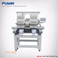 Fuwei 15 needles 2 heads computerized cap embroidery machine as happy embroidery machine for good sale