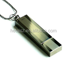 usb flash drive with pre loaded data&Shiny metal usb drive