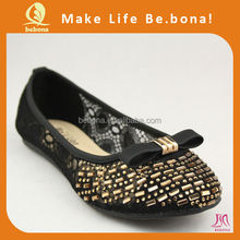 Alibaba China womens shoes latest ladies footwear with beautiful designs
