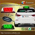 New! Wired Switch control Red and Green Bi-color waterproof two sdies LED RG TAXI roof sign light