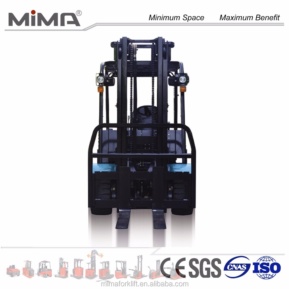 3.0T battery forklift truck model TK30 from China mima brand