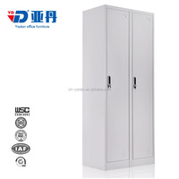 Blue two Door Steel Locker/Steel Bedroom Lockers Cabinet for family/school/government in Pakistan market
