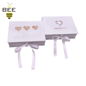Evening dress paper box packaging/Cosmetic gift box with ribbon/ swimwear magnetic bridesmaid gift box with shredded paper