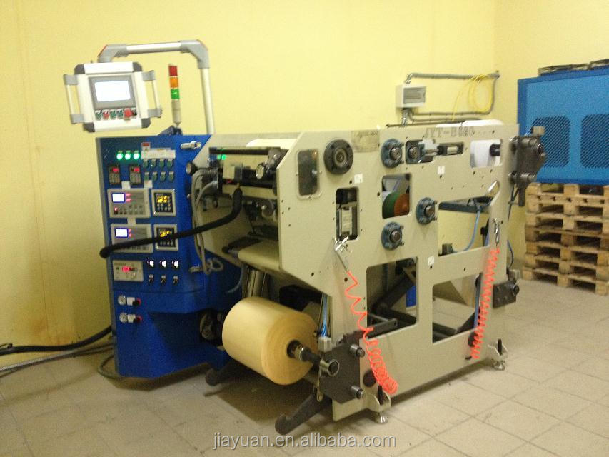 CE Approved JYT-320 High Speed Hot Melt Glue Coating/Lamination Machine, Self Adhesive Label/Trademark Coater