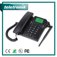 Sim Card Land Phone Gsm Wireless Fixed Telephone