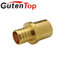 "LB-GutenTop pvc pipes 1/2""*1/2"" FNPT Brass Compression Coupling for Pex Fitting"