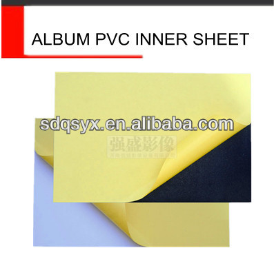 pvc book binding materials, photo album pvc sheets,sheet pvc for photobook