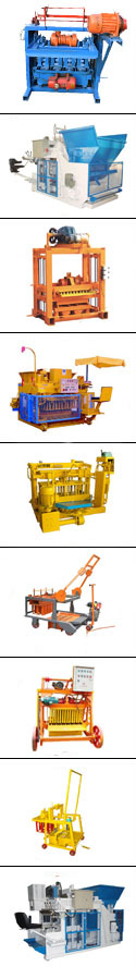 Yingfeng QMJ4-45 Mobile concrete block making machine