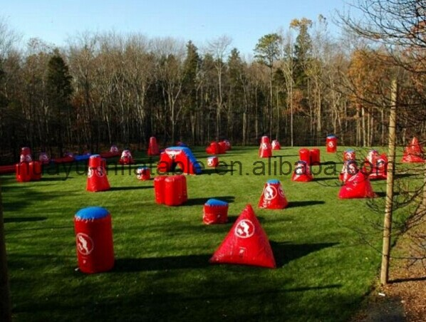 commerical inflatable paintball field in paintballs for outdoor sport,inflatable paintball air field