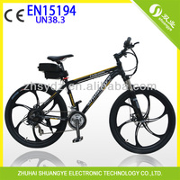 cheap 48V 500w motorized bicycle with magnesium alloy wheel from china supplier