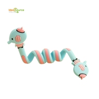 Cartoon animal earphone cable winder wire holder organizer for Promotion
