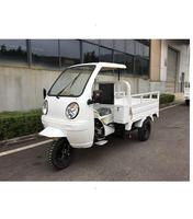 HOT SALE semi closed cabin 200cc air cooled engine cargo tricycle for sale