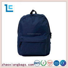 New products waterproof navy blue canvas backpacks for men