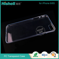 PC antiscratch clear case for iphone 6