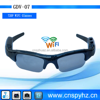 720P HD Digital camera Spying Camera Glasses, Consumer Electronics wifi P2P Video glasses camera