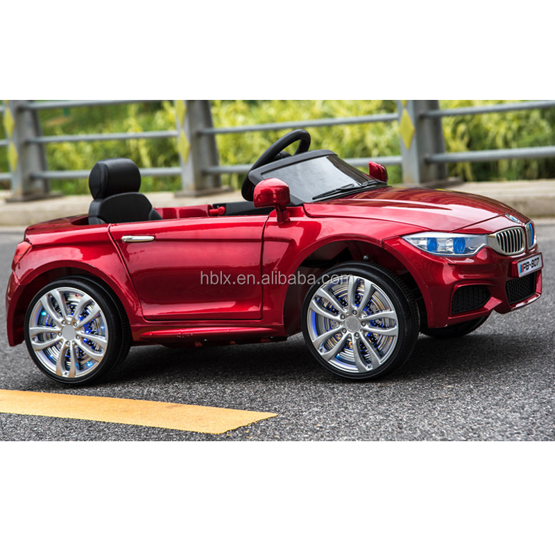 Plastic four-wheel rechargeable car for kids with MP3,USB,SD card input