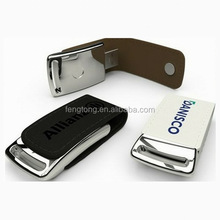 custom gift usb flash drives welcome Embossed logo leather usb