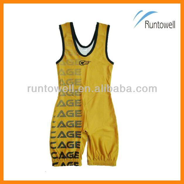 custom design sublimated wrestling suits/ sumo wrestling suit/ women wrestling