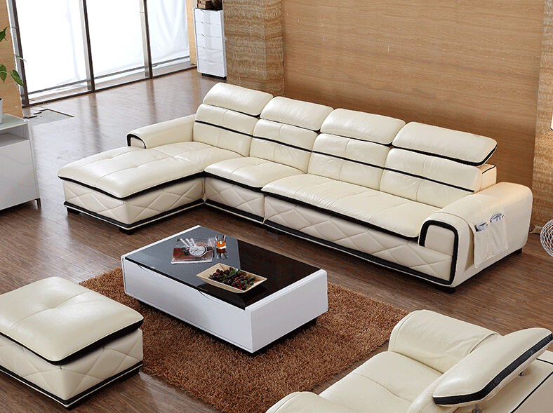 Modern White Leather Sofa Set Furniture Philippines Lazy
