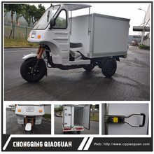 Factory Price 3 Wheel Truck Closed Cargo Box Tricycle for Food Delivery