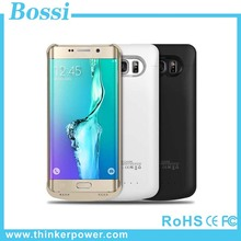 Extended battery case 4200mah Wireless Power Bank Case Portable Power Pack Case For Samsung Galaxy S6 Edge plus