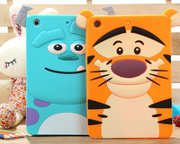 [Wholesale]New 3D cartoon movie silicone case back cover for ipad mini 1/2 #A1079 /Ship within 24-48hours, moq 1piece