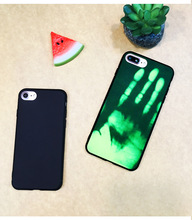 Magical Color Changing Back Case Thermal Sensor Fluorescent Heat Induction Protective Cover for iPhone 5 5S