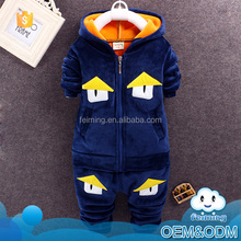Wholesale kids costumes latest design bird style soft fabric winter newborn baby clothing set in kids wear with hooded coat