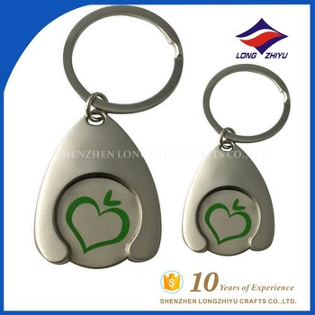 Lovely keychains key chain with detachable key rings d ring key chain