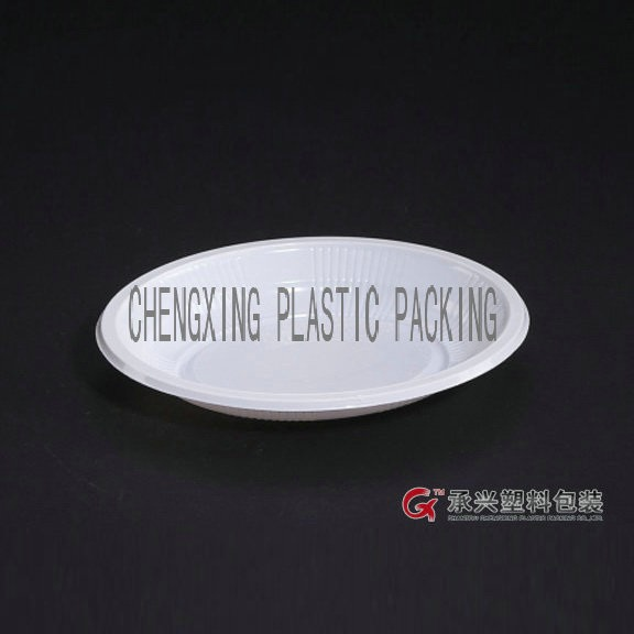 good quality ChengXing brand white disposable wholesale plates