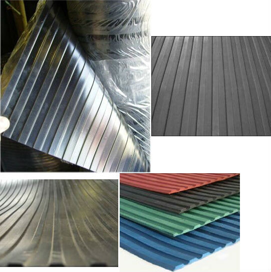 fine wide ribbed rubber sheet 3-8 thickness 1500mm width popular in European and American markets