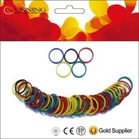 Decorative rubber bands Color rubber ring