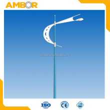 galvanized street 16m outdoor price lighting pole