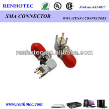 Factory price sma right angle c7 cord connector sma coaxial cable connector