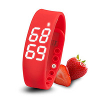 calorie sleep temperature healthy silicone smart wrist pedometer watch